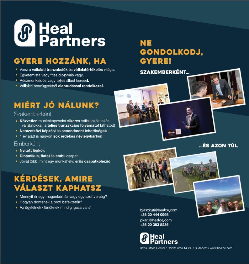 Heal Partners Flyer